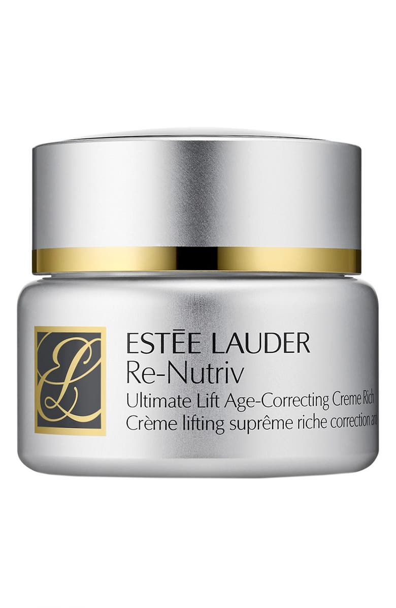 ESTÉE LAUDER Re-Nutriv Ultimate Lift Age-Correcting Crème Rich, Main, color, NO COLOR
