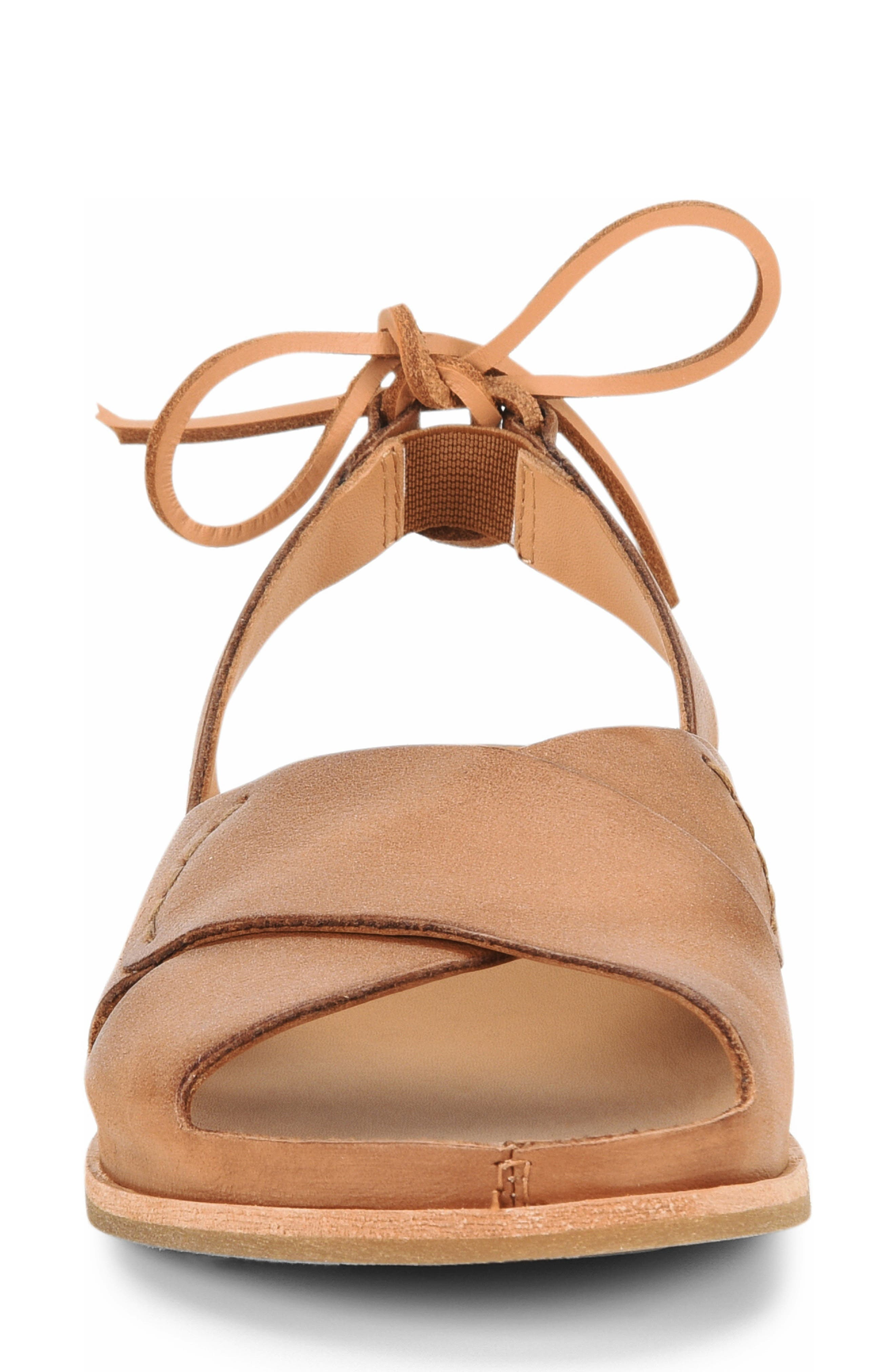 ,                             Aaron Sandal,                             Alternate thumbnail 4, color,                             BROWN LEATHER