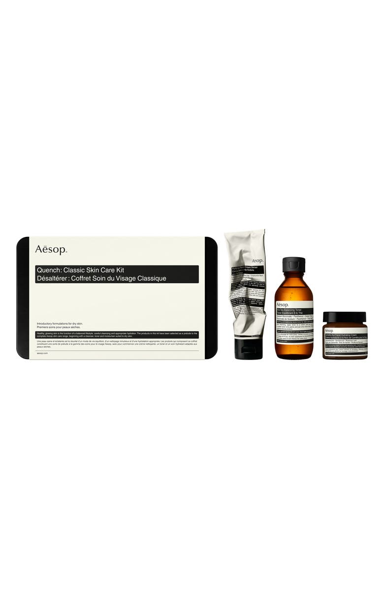 AESOP Quench Classic Skin Care Kit, Main, color, NO COLOR