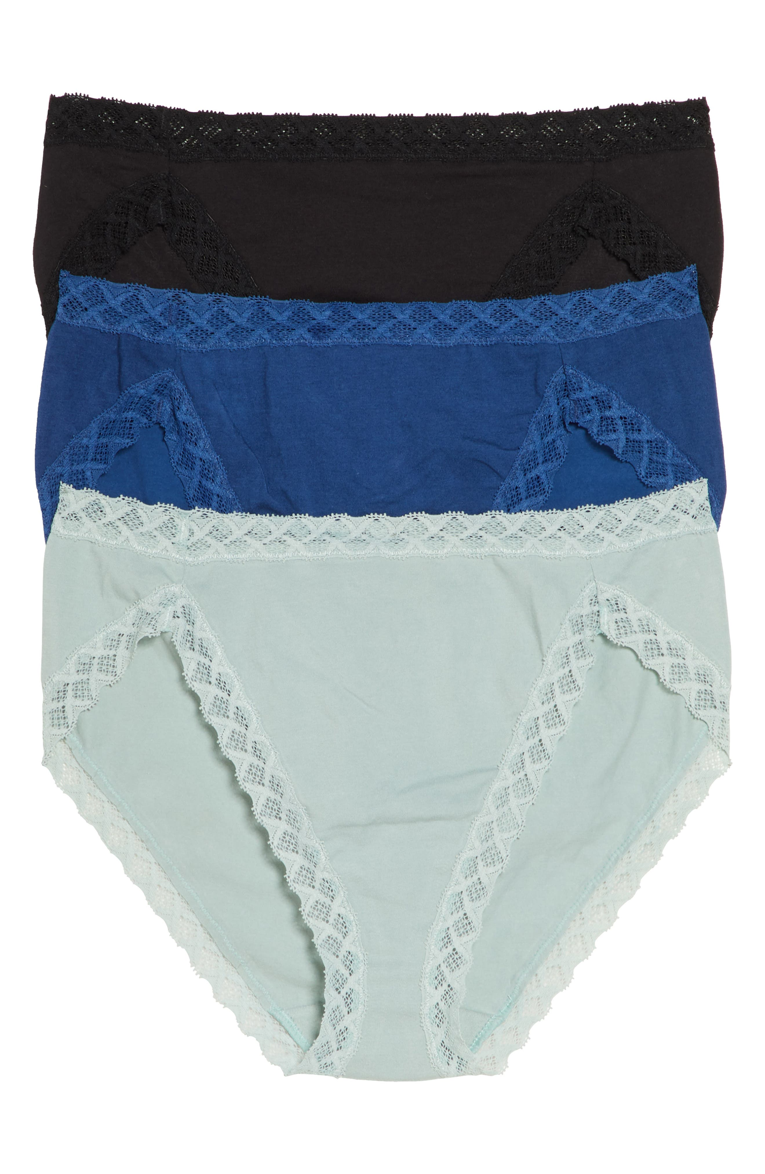 Image of Natori Bliss French Cut Briefs - Pack of 3