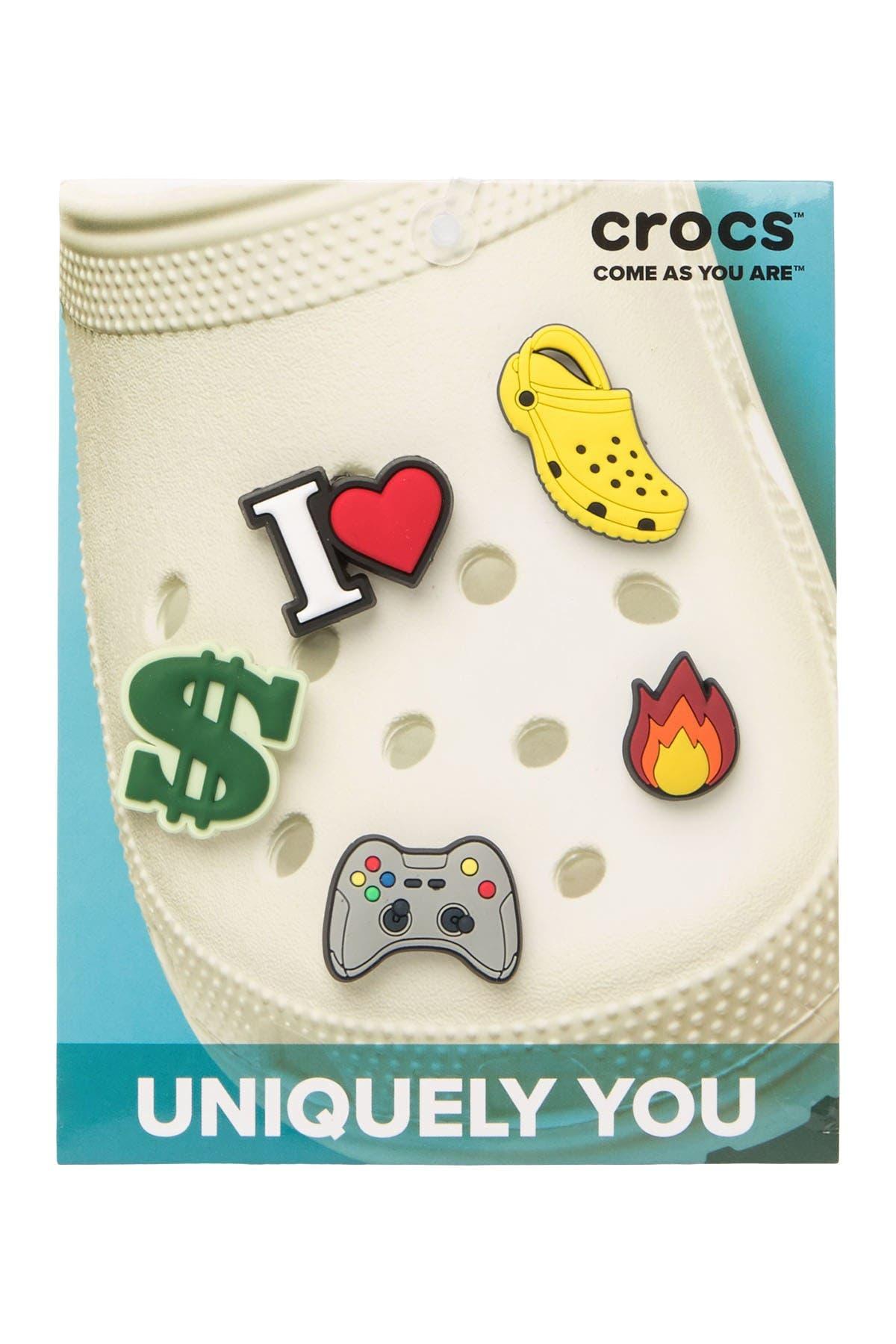 Image of Crocs Jibbitz Trendy Cool - Pack of 5