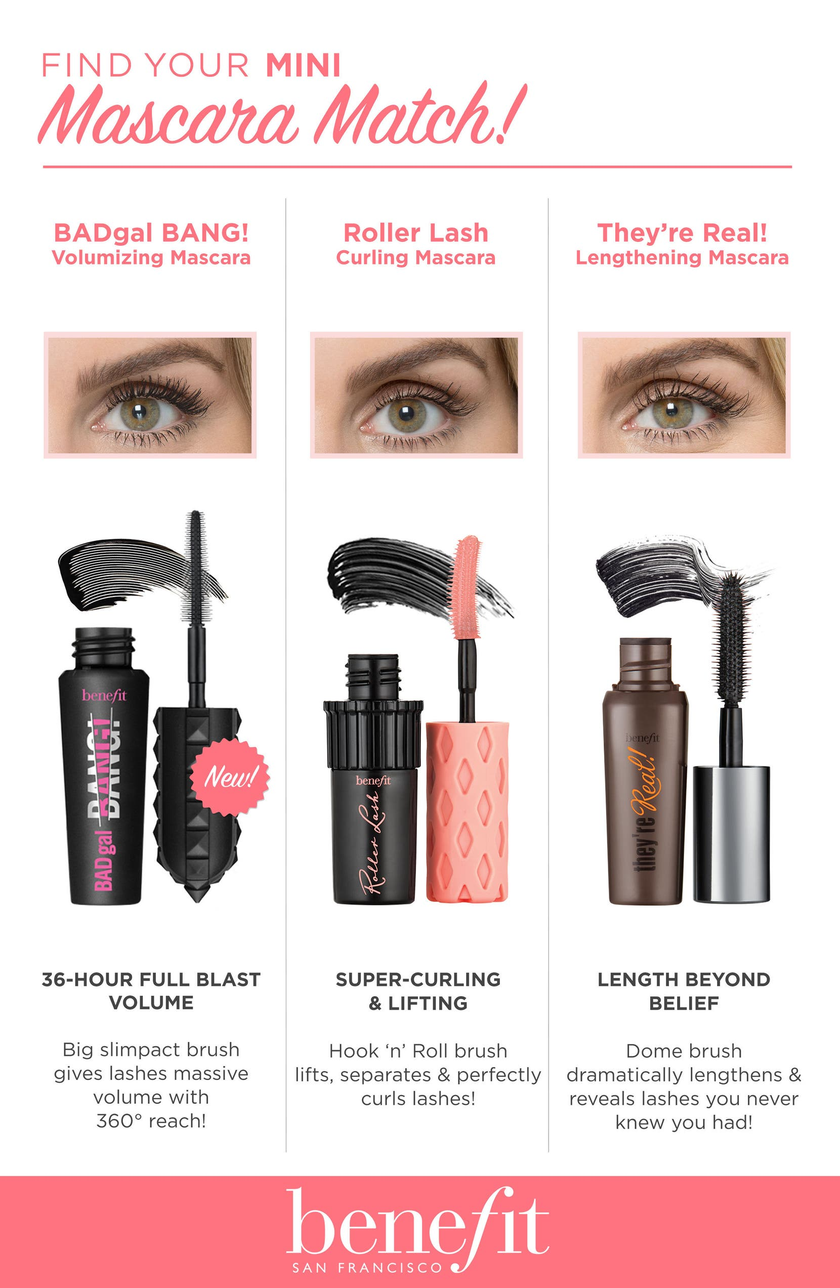 21e6a4638df Benefit Lash Leaders Mini Mascara Trio ($39 Value) | Nordstrom