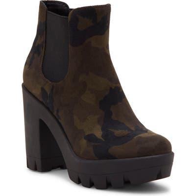Jessica Simpson Miraney Chelsea Boot, Green