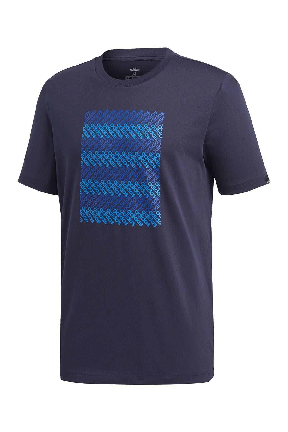 Image of adidas Logo Grid T-Shirt