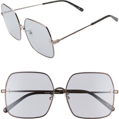 Stella Mccartney 61Mm Square Sunglasses - Gold/ Pink/ Black
