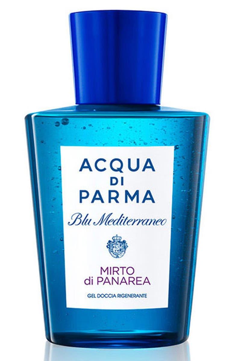 ACQUA DI PARMA 'Blu Mediterraneo - Mirto di Panarea' Shower Gel, Main, color, NO COLOR