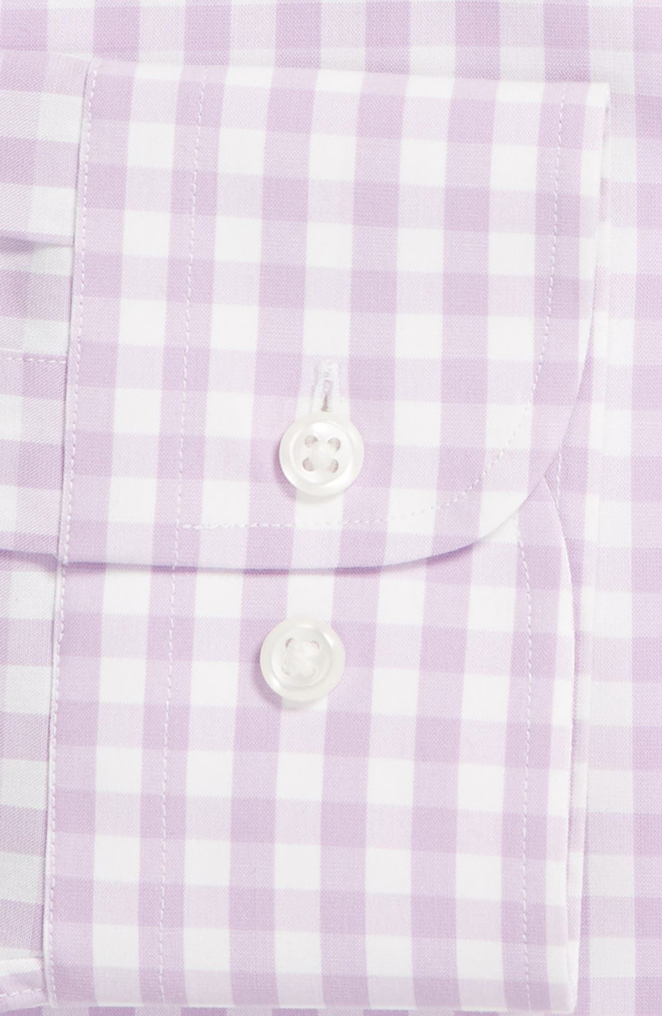 ,                             Tech-Smart Trim Fit Stretch Check Dress Shirt,                             Alternate thumbnail 50, color,                             530