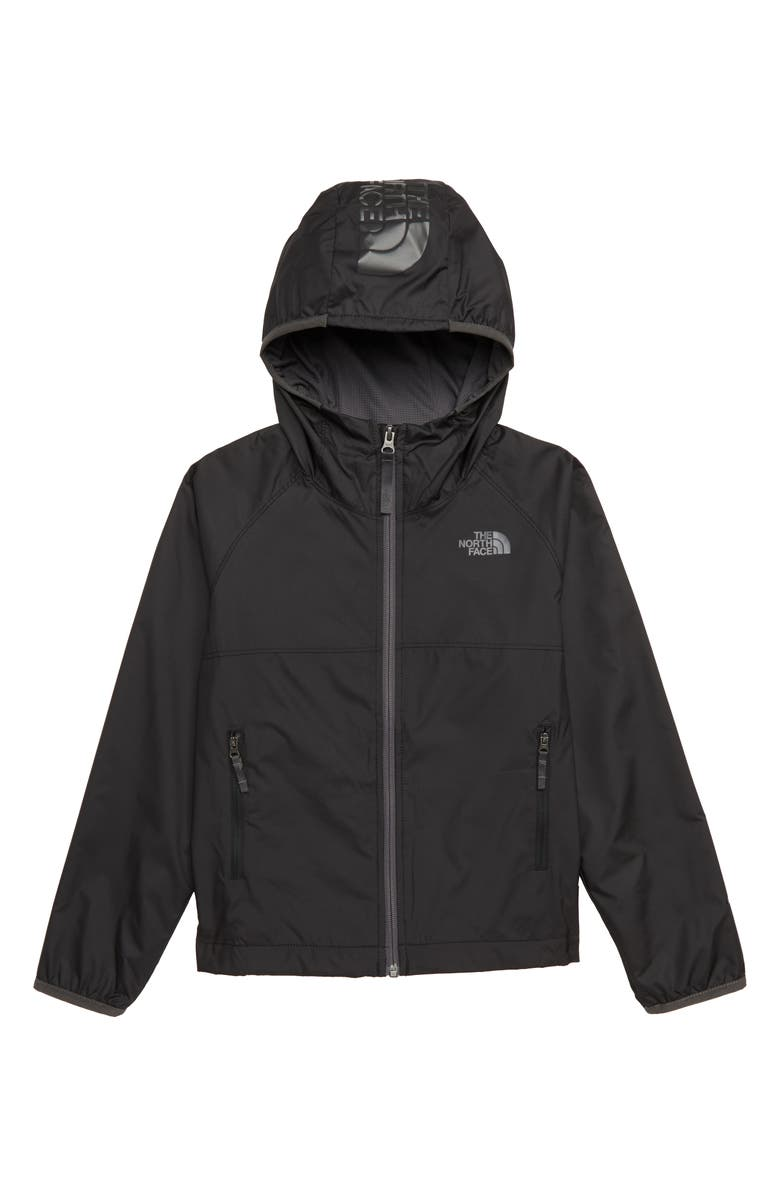 THE NORTH FACE Windy Crest Water Repellent Jacket, Main, color, 001