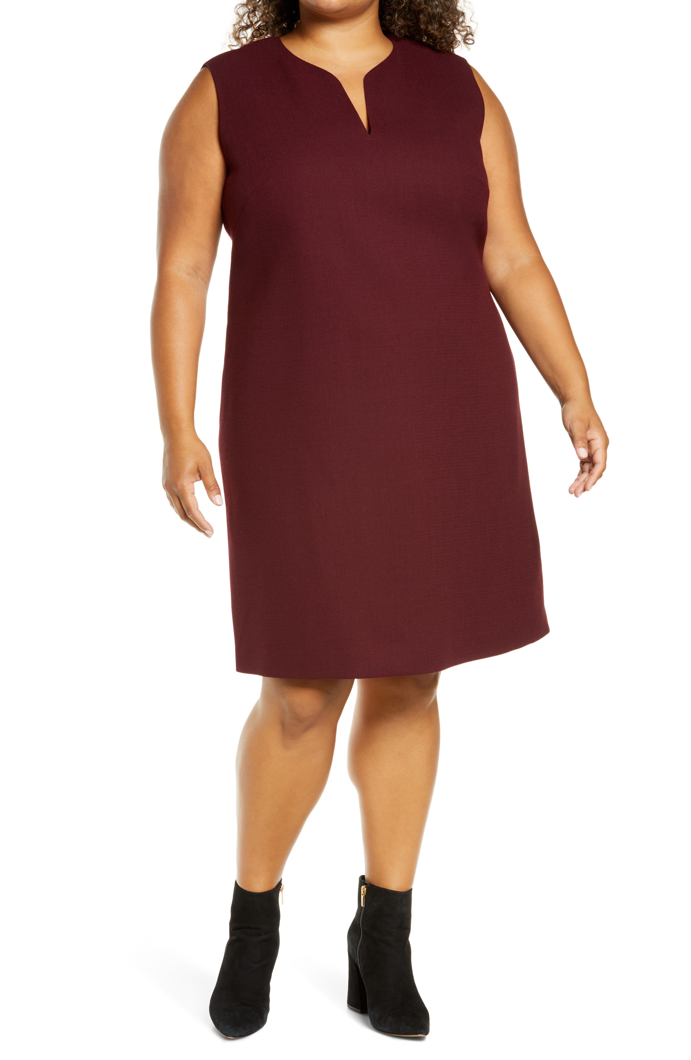 Image of Lafayette 148 New York Taren Shift Dress