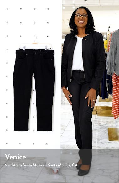Dre Slim Crop Boyfriend Jeans, sales video thumbnail