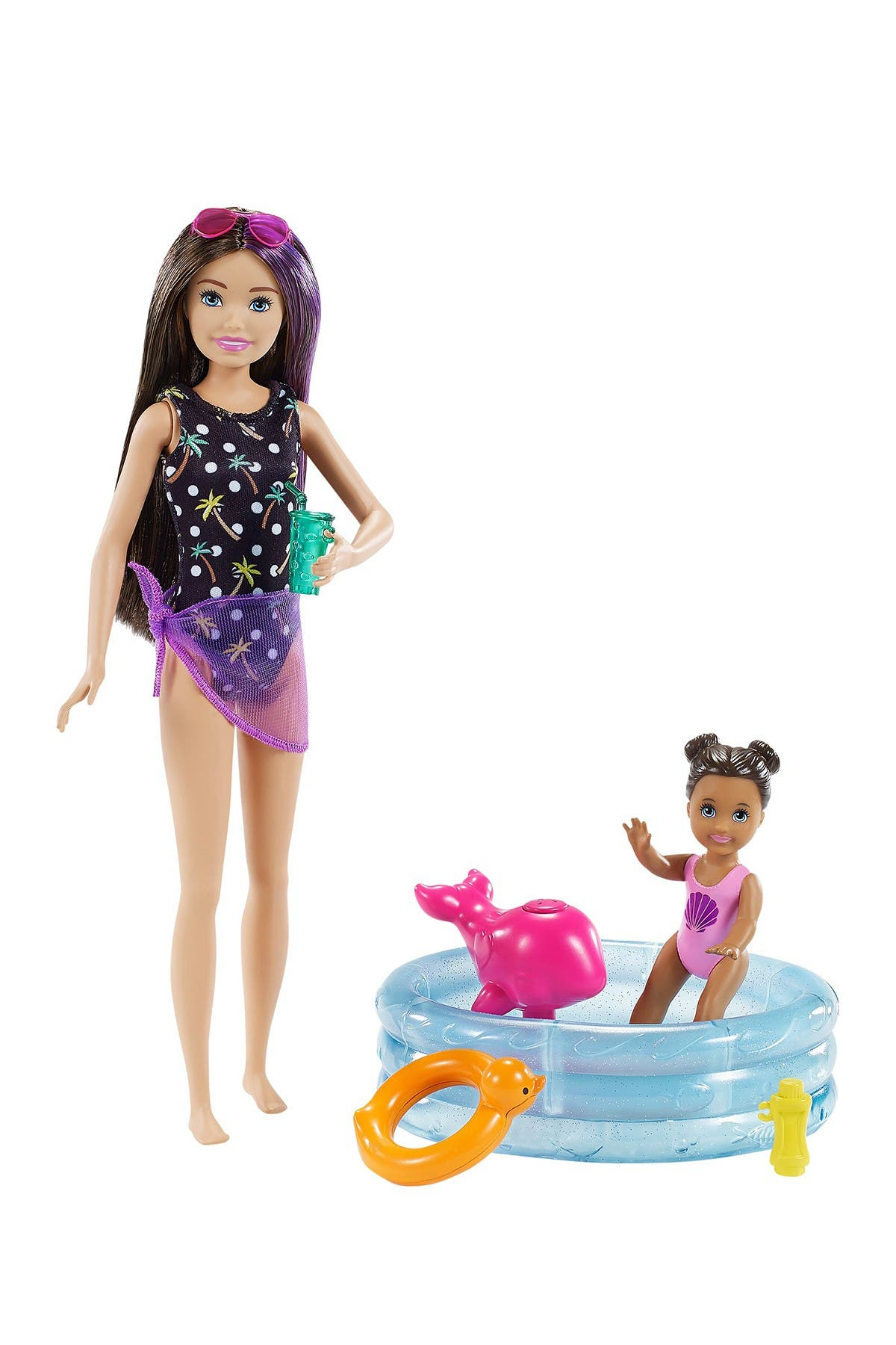 Image of Mattel Barbie® Skipper® Babysitters Inc™ Dolls and Playset
