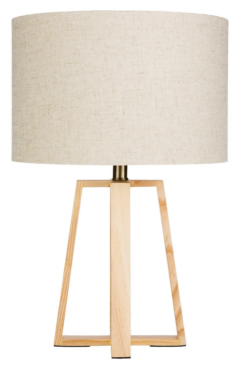 SURYA HOME Callahan Table Lamp, Main, color, KHAKI