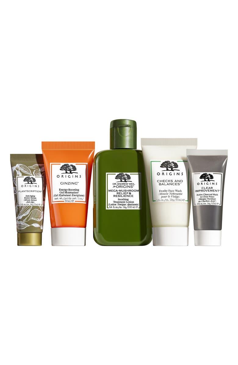 ORIGINS Best Sellers Best Skin Set, Main, color, 000