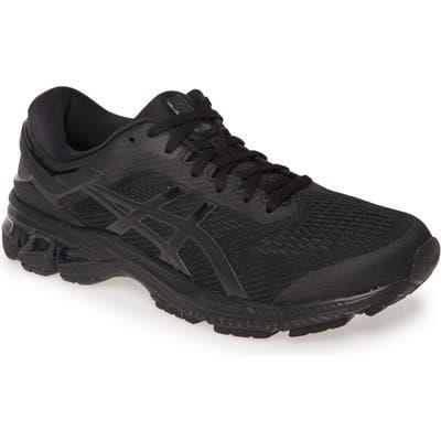 Asics Gel-Kayano 26 Running Shoe, Black
