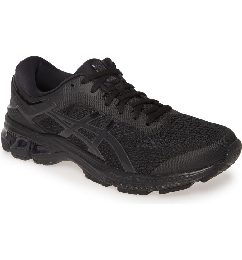 ASICS<SUP>®</SUP> GEL-Kayano<sup>®</sup> 26 Running Shoe, Main, color, BLACK/ BLACK