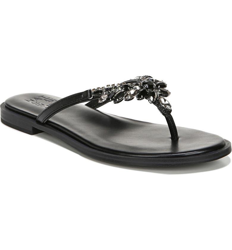 NATURALIZER Fallyn Flip Flop, Main, color, BLACK
