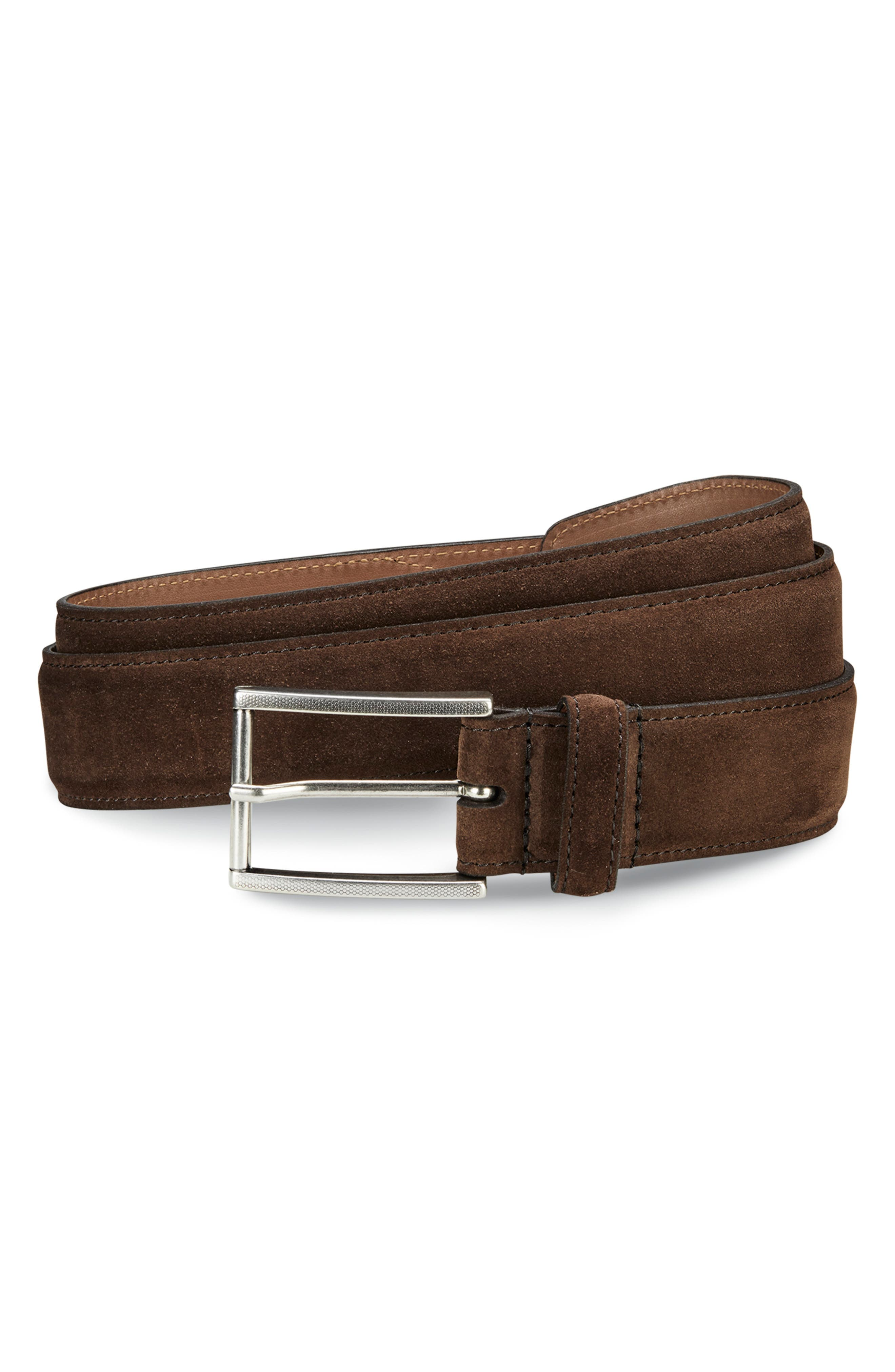 Suede Avenue Leather Belt