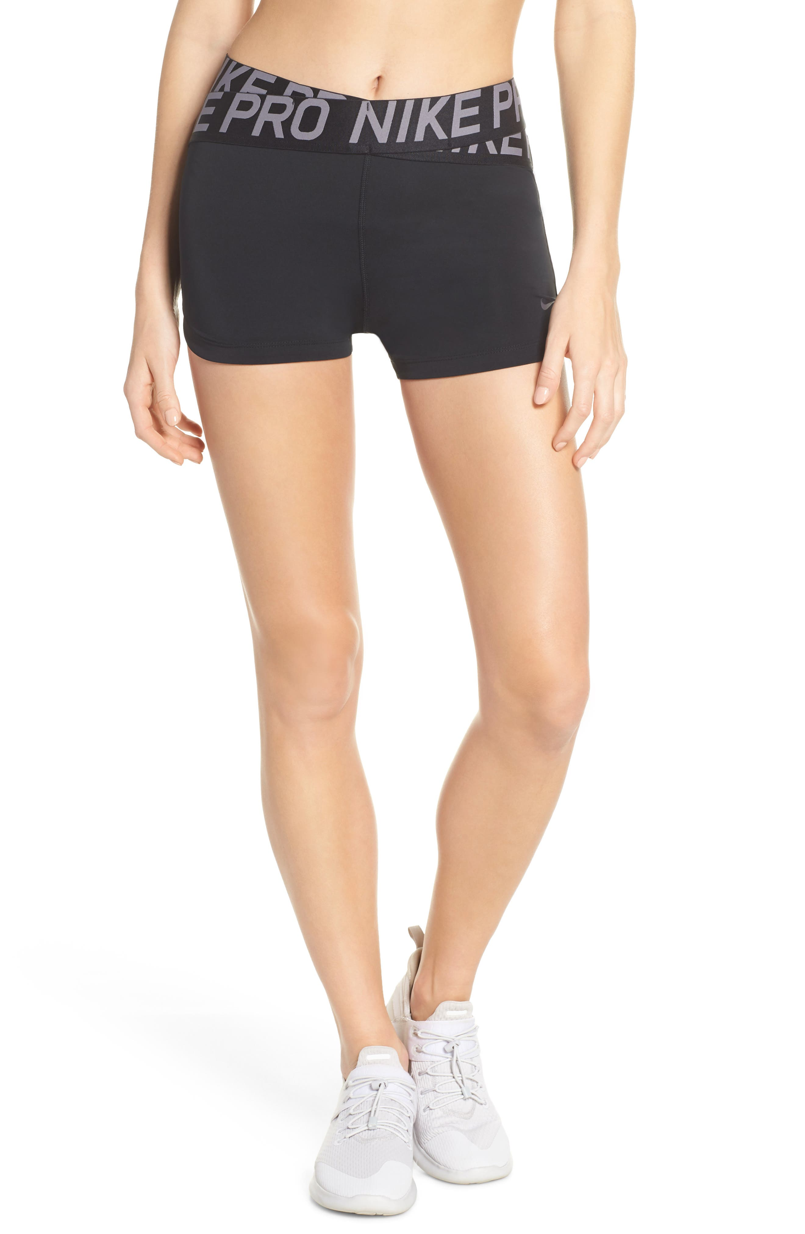 Nike Pro Intertwist Shorts, Black