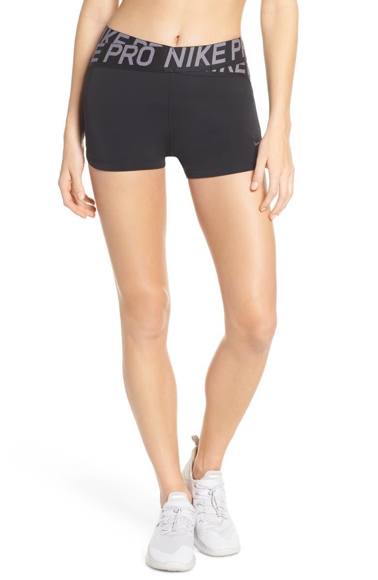 NIKE Pro Intertwist Shorts, Main, color, 010