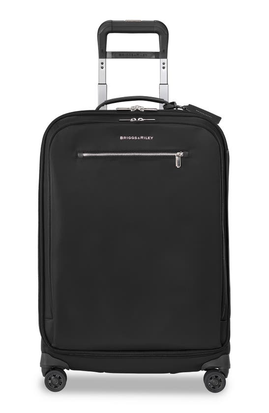 Briggs & Riley Medium Rhapsody Spinner 25-inch Wheeled Luggage In Black