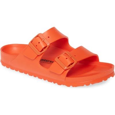 Birkenstock Essentials - Arizona Slide Sandal, Orange