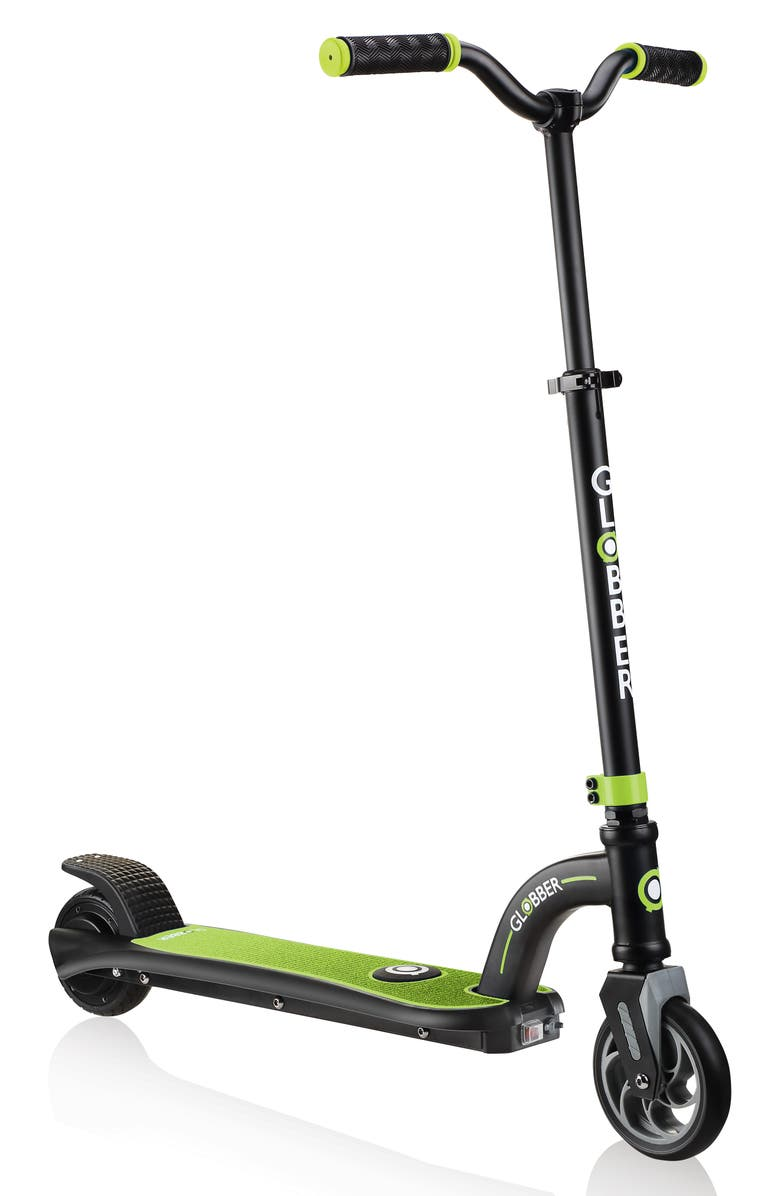 GLOBBER One K E-Motion 10 Electric Scooter, Main, color, LIME GREEN