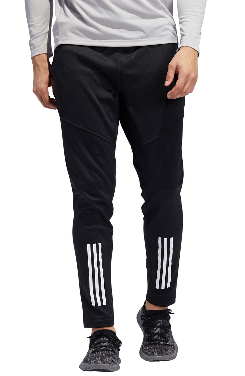 ADIDAS 3-Stripes Warm-Up Pants, Main, color, 001