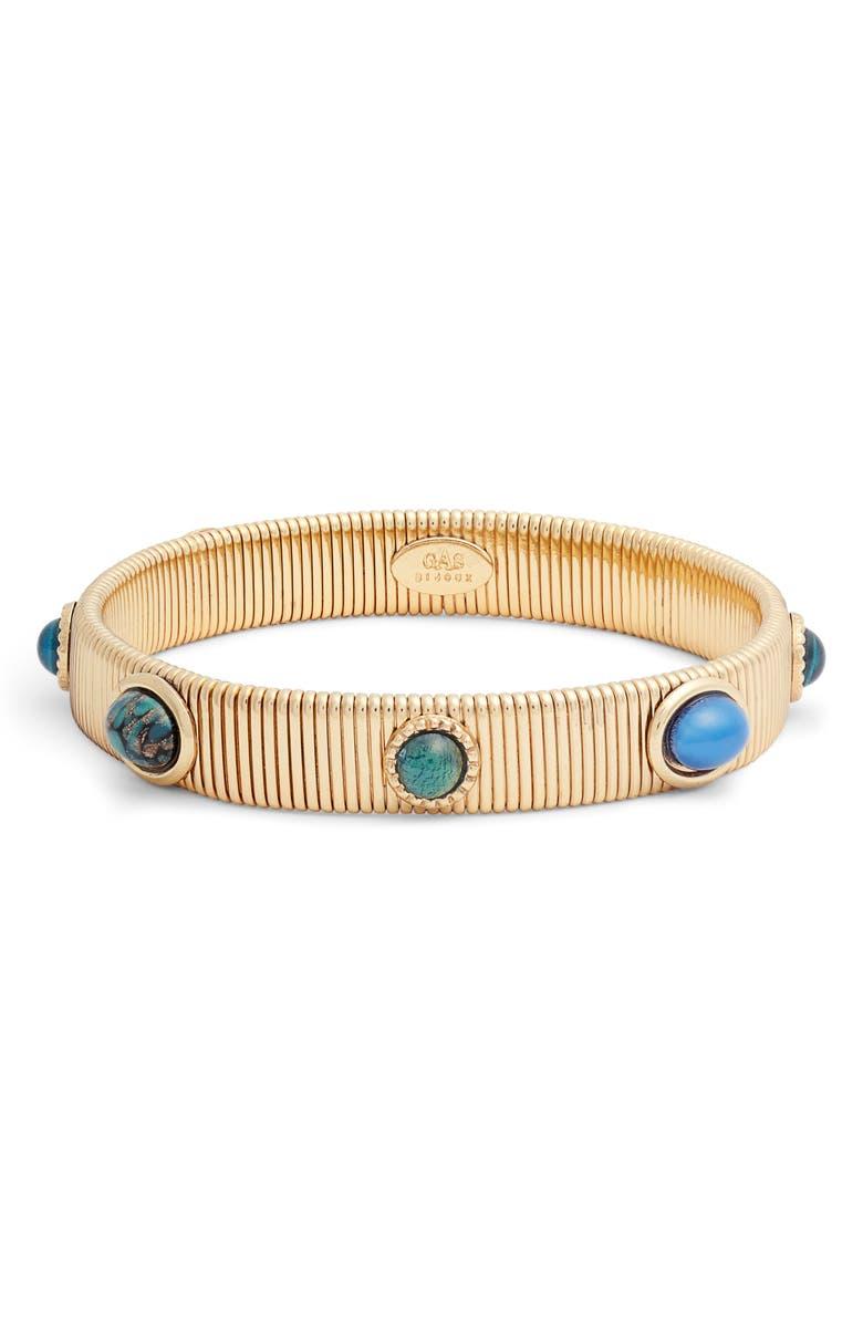 GAS BIJOUX Strada Bracelet, Main, color, MULTI/ BLUE