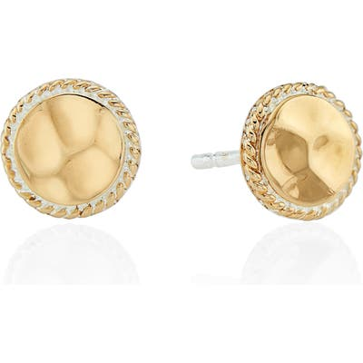 Anna Beck Hammered Stud Earrings