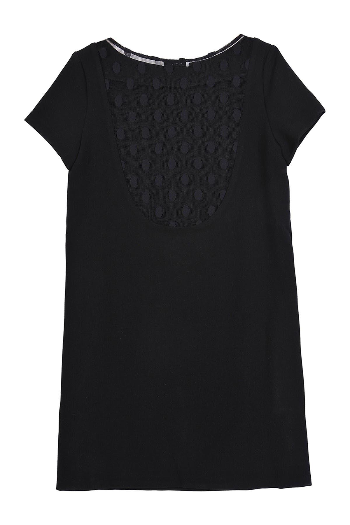 Image of FRNCH 1/4 Sleeveless Shift Short Dress