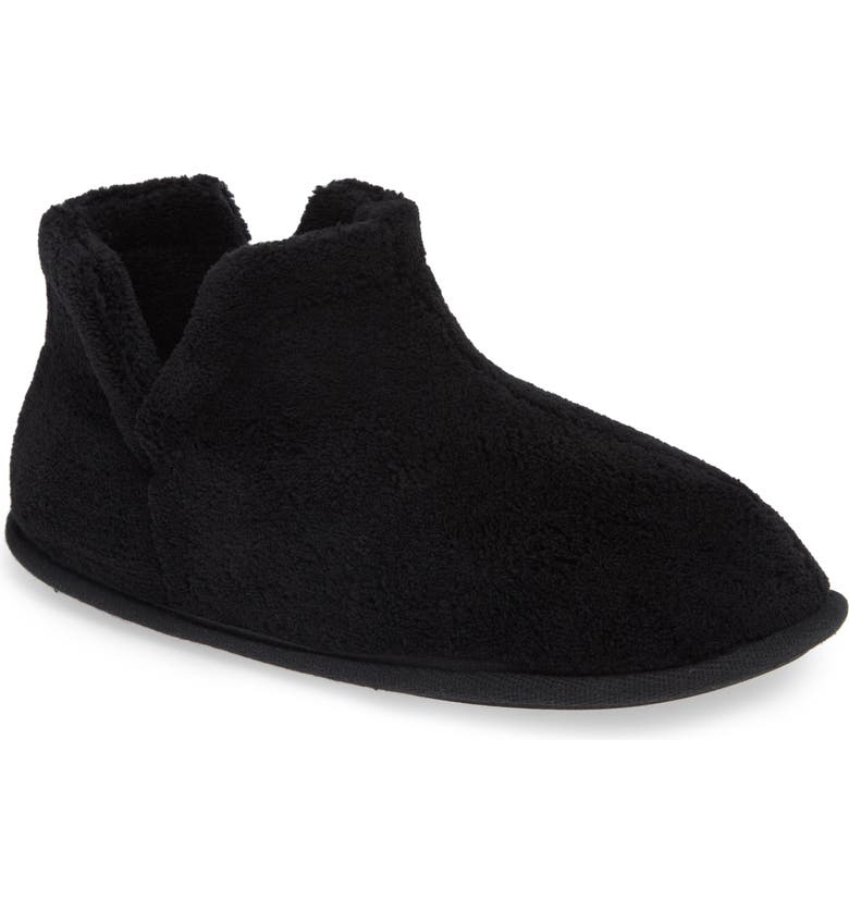 DANIEL GREEN Evalyn Slipper Bootie, Main, color, BLACK FABRIC
