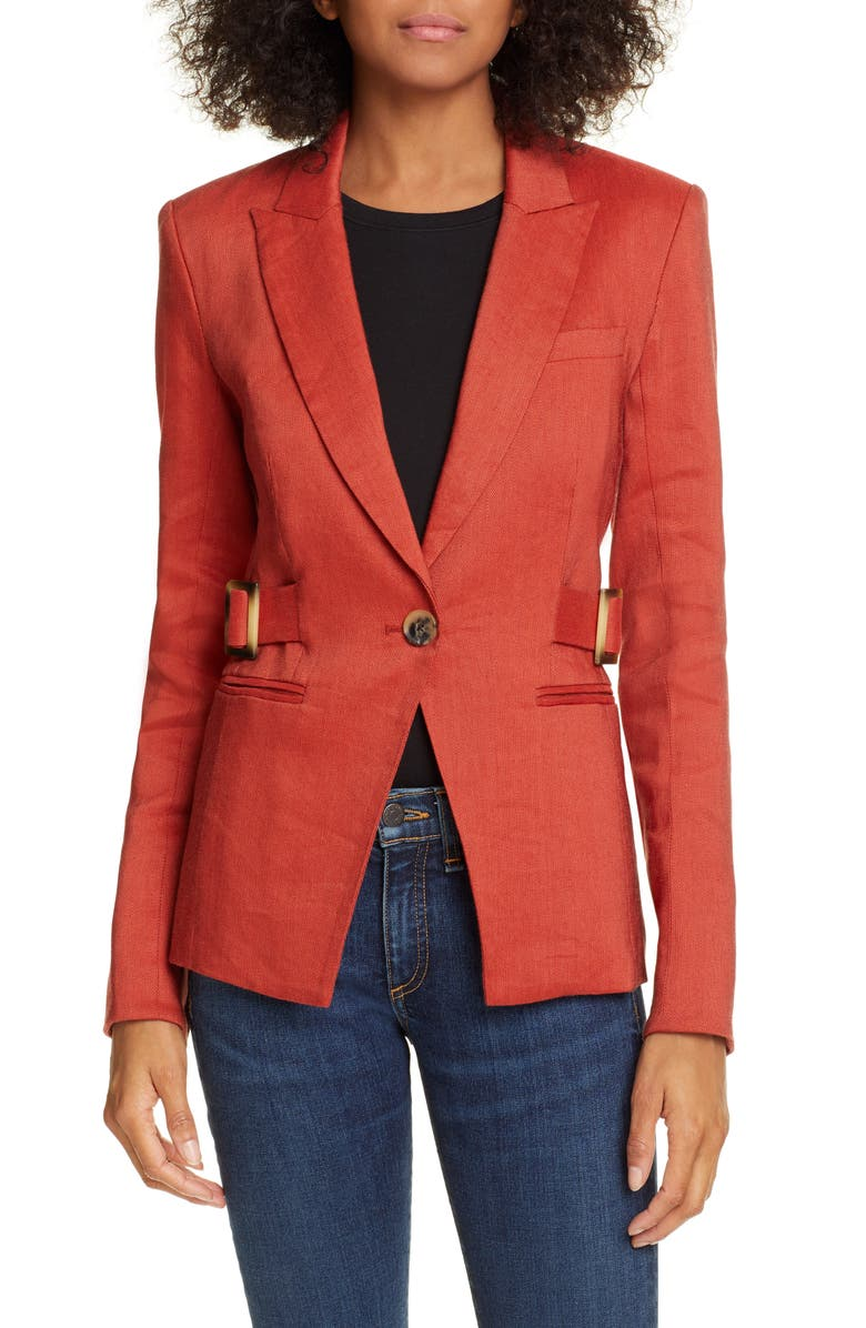 VERONICA BEARD Baltazar Dickey Jacket, Main, color, 622