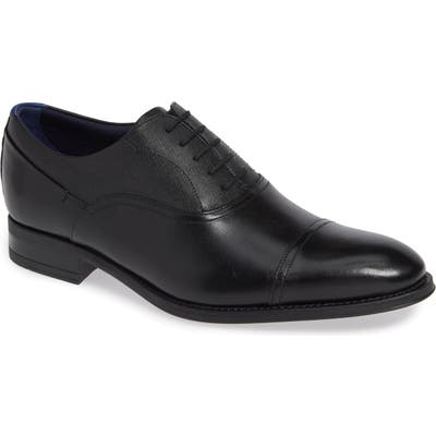 Ted Baker London Fhares Cap Toe Oxford- Black