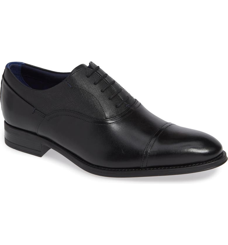 TED BAKER LONDON Fhares Cap Toe Oxford, Main, color, 001
