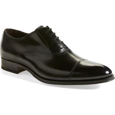To Boot New York Brandon Cap Toe Oxford- Black (Nordstrom Exclusive)