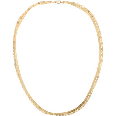 Lana Jewelry Liquid Gold & Nude Double Strand Necklace