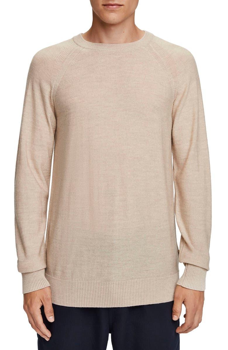 SCOTCH & SODA Crewneck Merino Wool Sweater, Main, color, 260