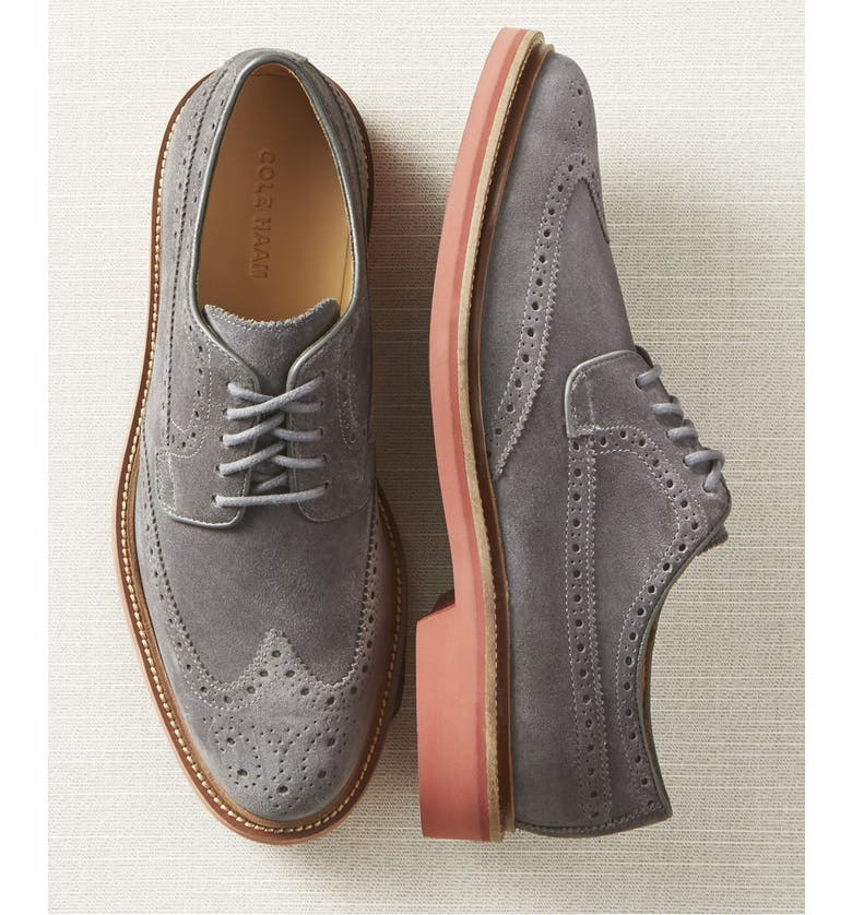 COLE HAAN 'Briscoe' Wingtip, Main, color, 270
