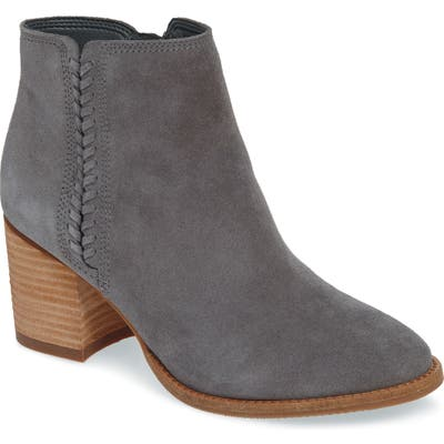 Blondo Nina Waterproof Suede Boot- Grey