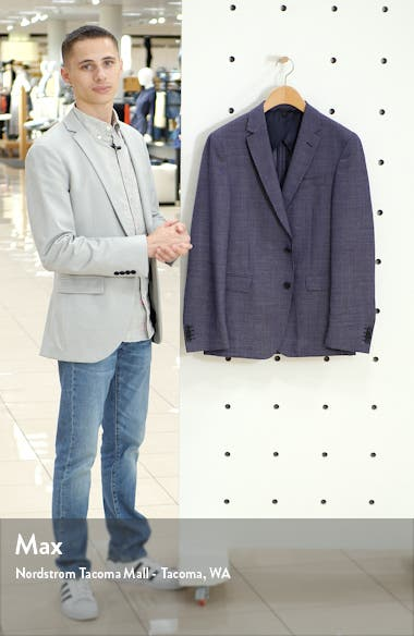Nobis Trim Fit Wool Sport Coat, sales video thumbnail