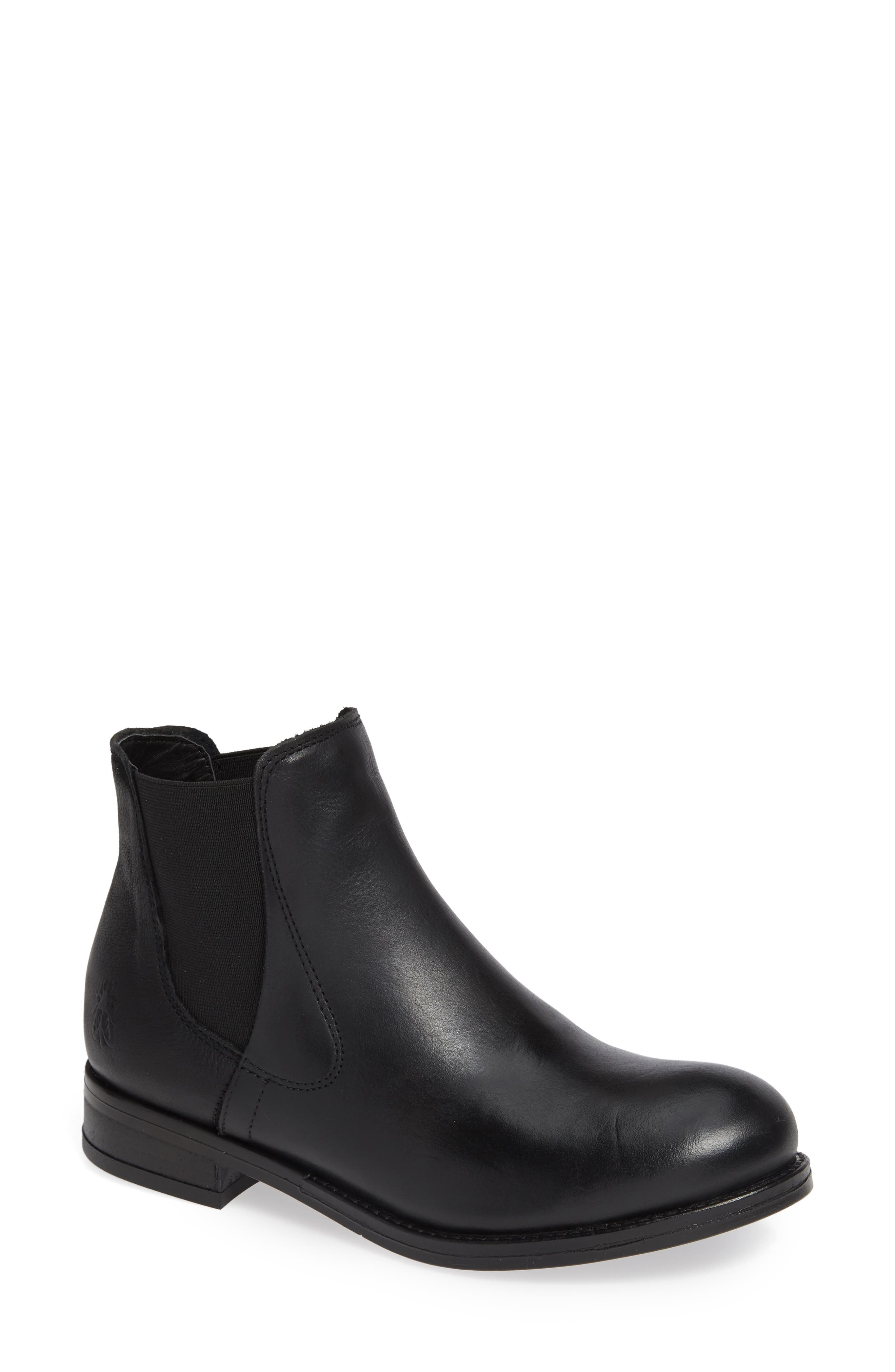 Fly London Alls Chelsea Bootie - Black