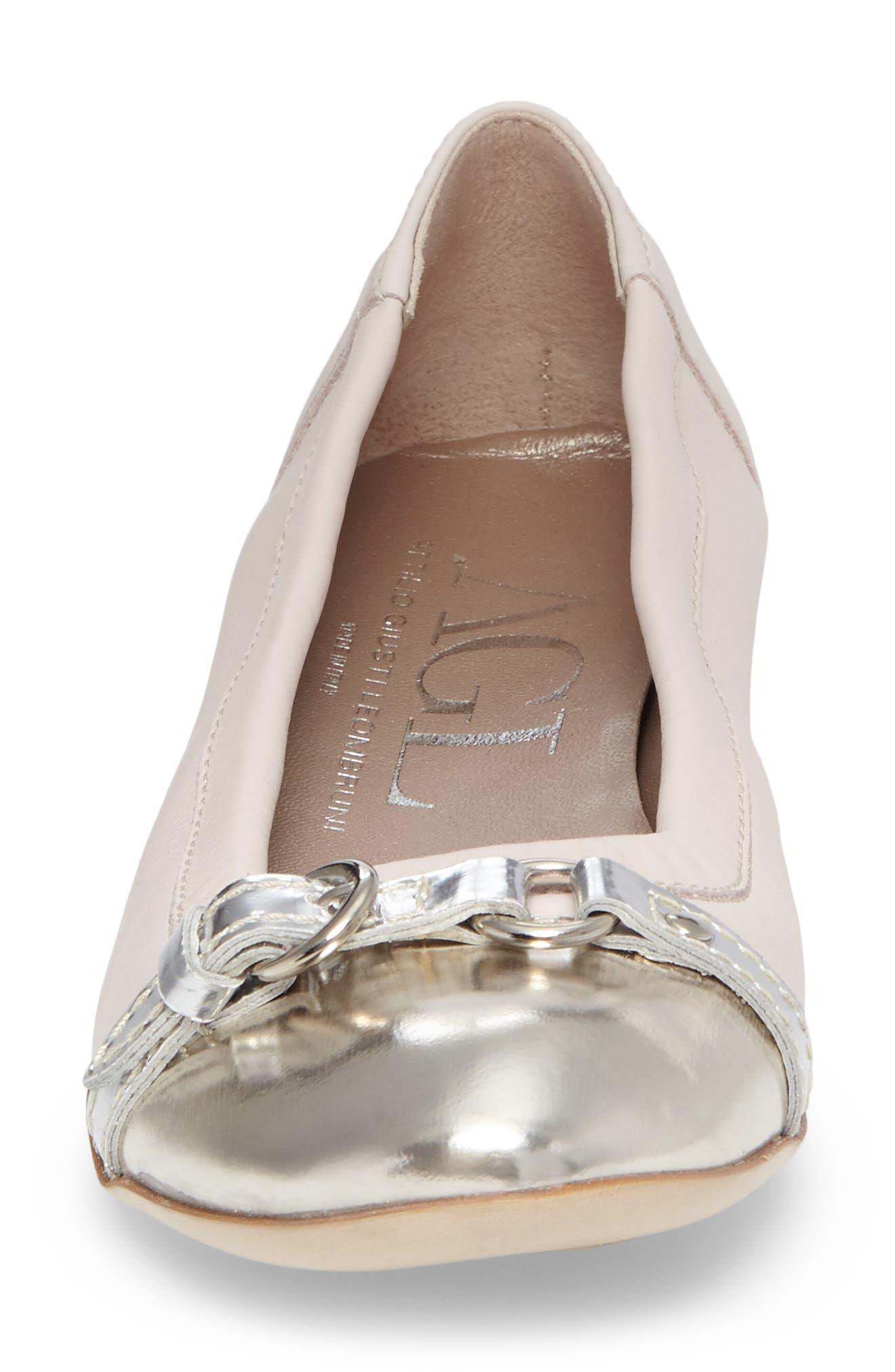 ,                             Cap Toe Ballet Flat,                             Alternate thumbnail 205, color,                             680