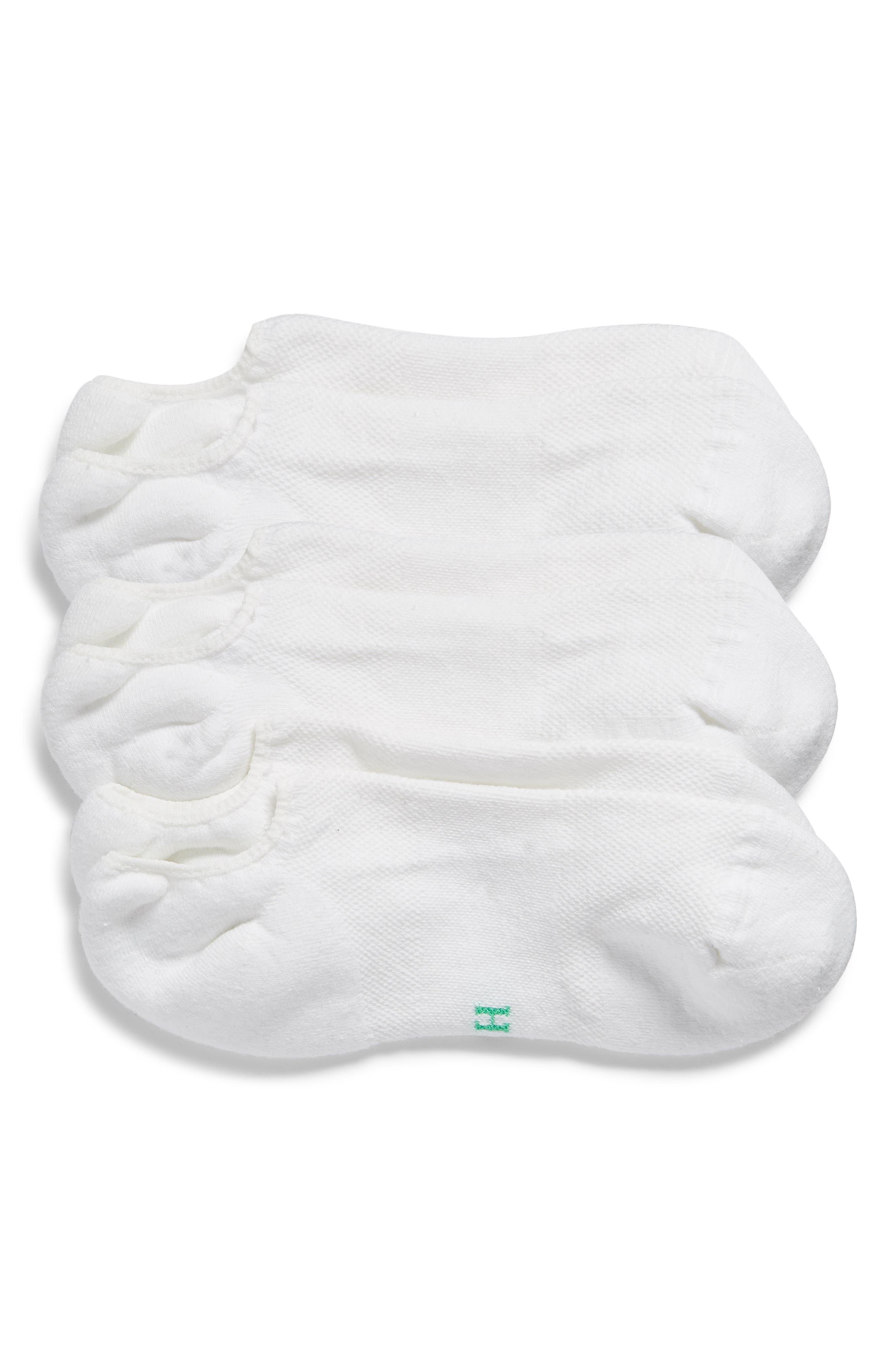 Hue Ecosport 3-Pack Cushion No-Show Socks   Nordstrom