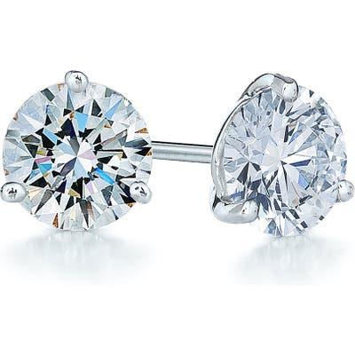 Kwiat 1.25Ct Tw Diamond & Platinum Stud Earrings