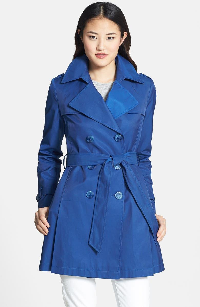 DKNY Trench Coat, Main, color, 425