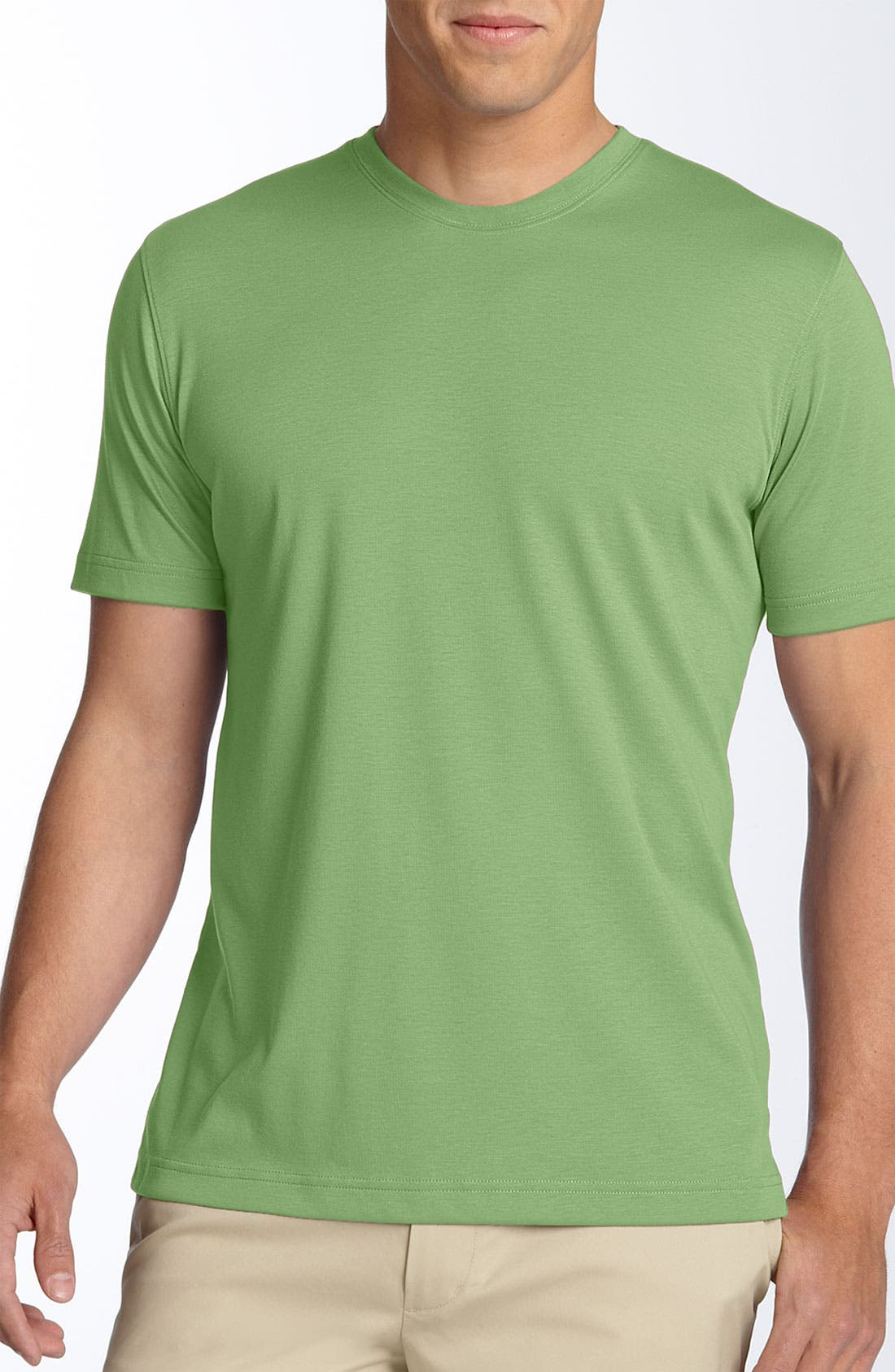 ,                             Georgia Crewneck T-Shirt,                             Main thumbnail 205, color,                             302