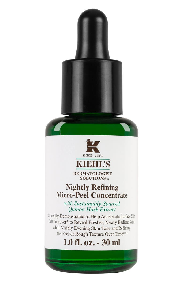 KIEHL'S SINCE 1851 Dermatologist Solutions<sup>™</sup> Nightly Refining Micro-Peel Concentrate, Main, color, NO COLOR