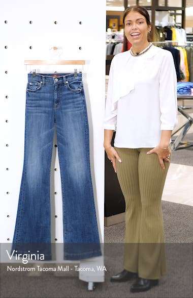 Ginger High Waist Flare Jeans, sales video thumbnail