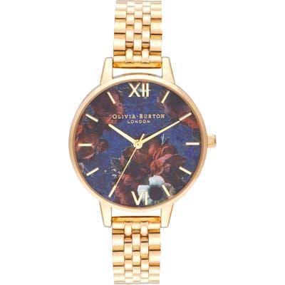 Olivia Burton Floral Print Bracelet Watch,