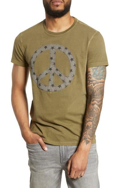 John Varvatos T-shirts PEACE STAR FILL T-SHIRT